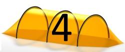 4 Personen Zelt